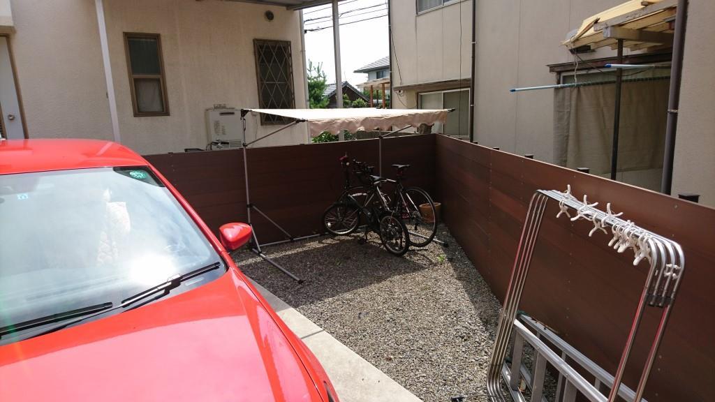 総額1万円くらいで購入したサイクルガレージの組立方法