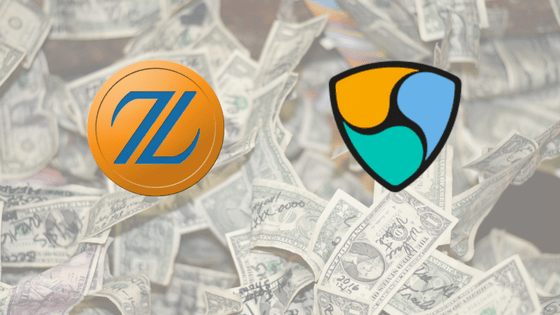 仮想通貨投資が熱い!お気に入りは「Zaifトークン」と「NEM」